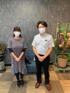 代表の鈴木さんと撮影!