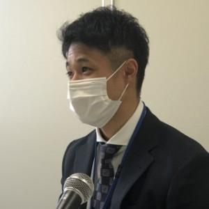 いわき税務署期待のホープ!秋場さんは山形県出身だそうです!丁寧に説明してくださいました。