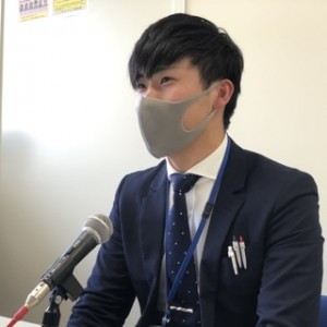 浅沼拓朗さん。山形県出身だそうです!お父さんお母さん、浅沼さんはいわきで頑張ってますよ〜!