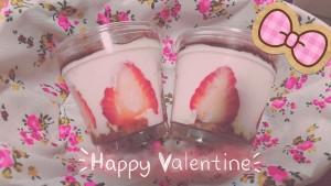 今年のバレンタインは、特にチョコを配る事もなく・・・。 と思っていたのですが、なんとなく思い立って作ってみました。 いちごティラミス🍓✨チョコじゃないやんけ~っ!ってのは置いといて\(^^\)笑 美味しそうなイチゴでイチゴソースを作って~、マスカルポーネと生クリームと合わせて~、・・・うましっ!! とっても美味しく出来ました♡ こちらを抽選で一名の方に・・・あげたい気持ちは山々なのですが、今の時期、手作りはアレですので、代わりに私が責任を持って頂きます(・∀・) 簡単だったから、また作ろうっと♡