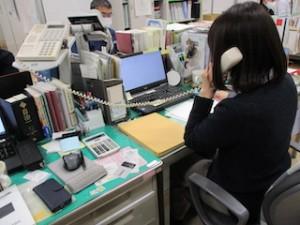阿部さん。恥ずかしがり屋さんでお顔を見せてもらえず・・・でもしっかり電話でお伝えいただきました!