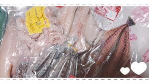 江名にある丸源水産食品さん名物の【縄文干し】。中継後、自分用にいっぱい買っちゃった(o^^o)