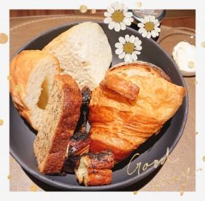 以前、とあるホテルの朝食で頂いたパンの盛り合わせ♡ 夢の盛り合わせ♡