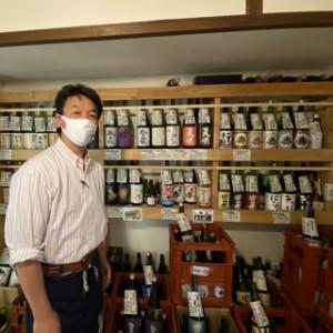 永山さんと日本酒