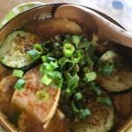 夏野菜と鶏むねチャーシューのタンメン