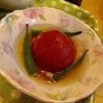冷製トマトコンソメスープ
