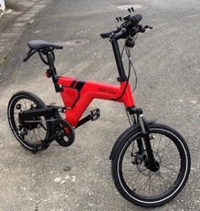自転車買いました!